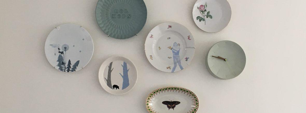 Bordjesverzameling Saskia Verhoef
